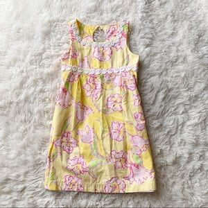 Lilly Pulitzer Yellow & Pink Floral Dress